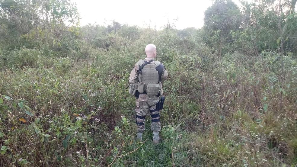 Operação é realizada no contexto das medidas implementadas pela Intervenção Federal na Segurança Pública no Estado do Rio (Foto: Andre Dias/Inter TV)
