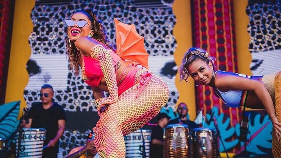 A cantora Anitta estará em São Paulo neste final de semana — Foto: Divulgação
