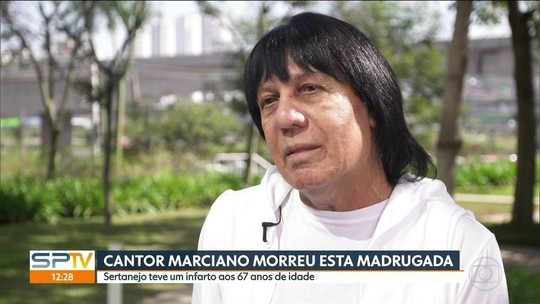 Corpo do cantor Marciano é velado em São Caetano