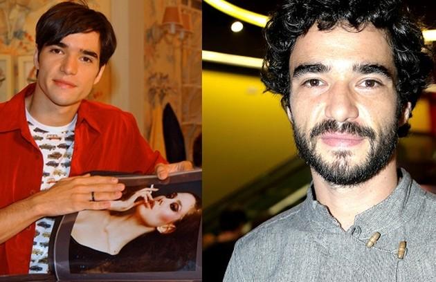 """Caio Blat foi Abelardo Sardinha, filho caçula de Edilásia que tinha o sonho de se tornar maquiador. O ator estreará como diretor de novelas em """"Além da ilusão"""", em 2021 (Foto: Globo)"""