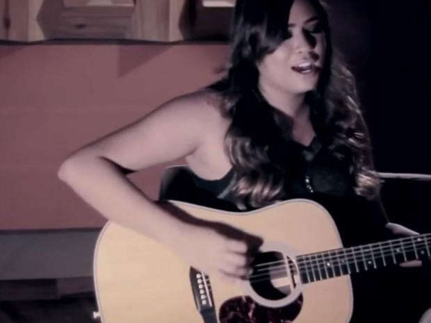 Empresário agora trabalha com a cantora Rafaela Miranda: 'presente do Cristiano', Goiás (Foto: Reprodução/TV Anhanguera)