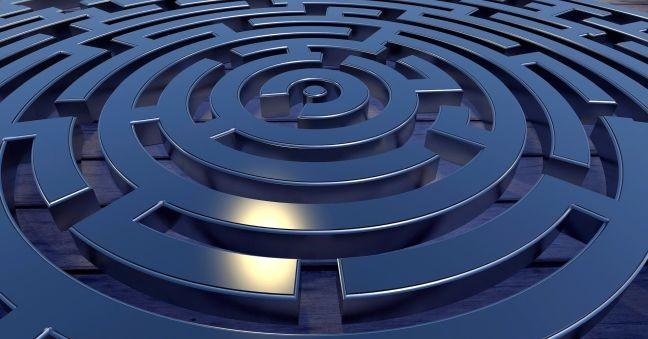 Centro, labirinto (Foto: Pixabay)