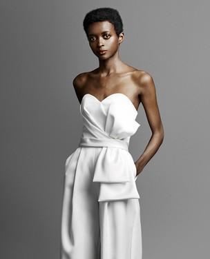 Looks bridal com calça para casamento civil
