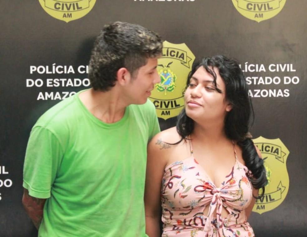 Ingrid teve um relacionamento amoroso com jovem vítima de tentativa de homicídio  — Foto: Eliana Nascimento/G1 Amazonas