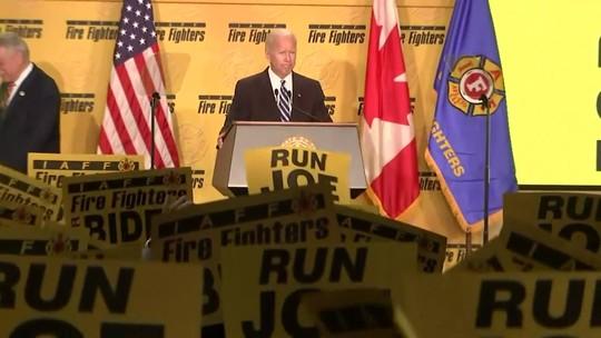 Joe Biden, vice do ex-presidente Obama, anuncia pré-candidatura à presidência dos EUA