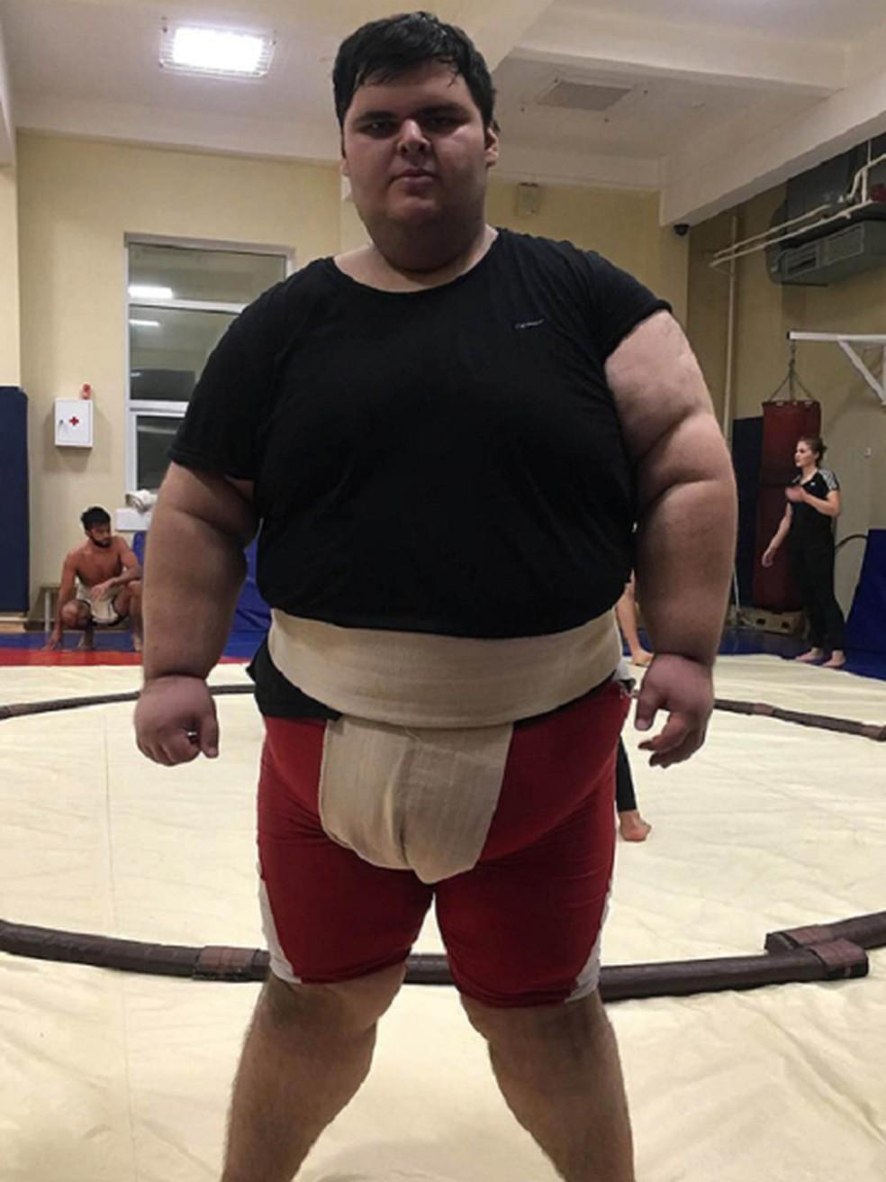 O lutador russo Dzhambulat Khatokhov — Foto: Reprodução/Instagram