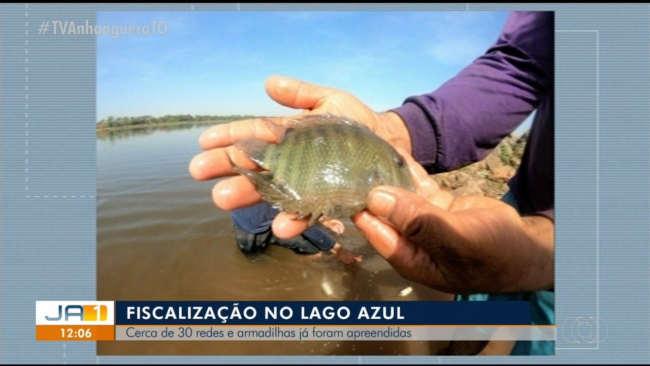 Mais de 30 redes e armadilhas são apreendidas no Lago Azul em Araguaína