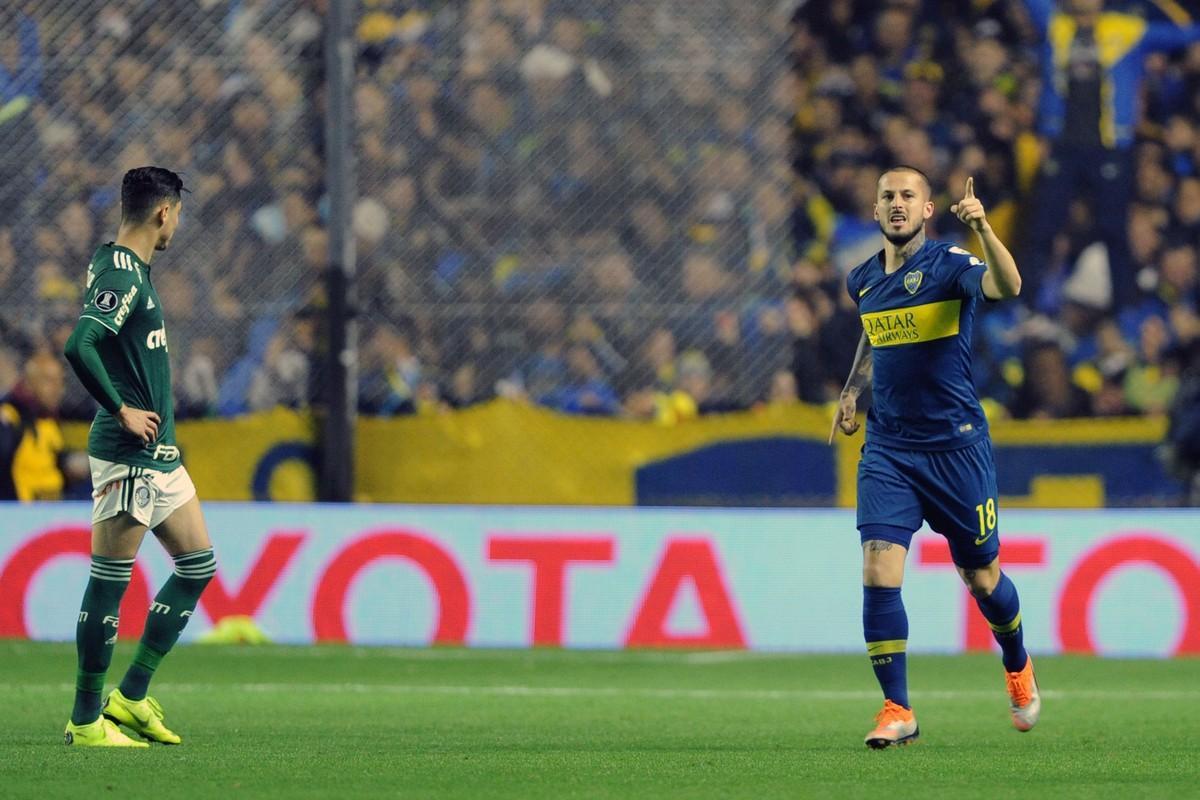 b5a6213fb8 Quem é Darío Benedetto  conheça o atacante do Boca Juniors que fez dois  gols no Palmeiras