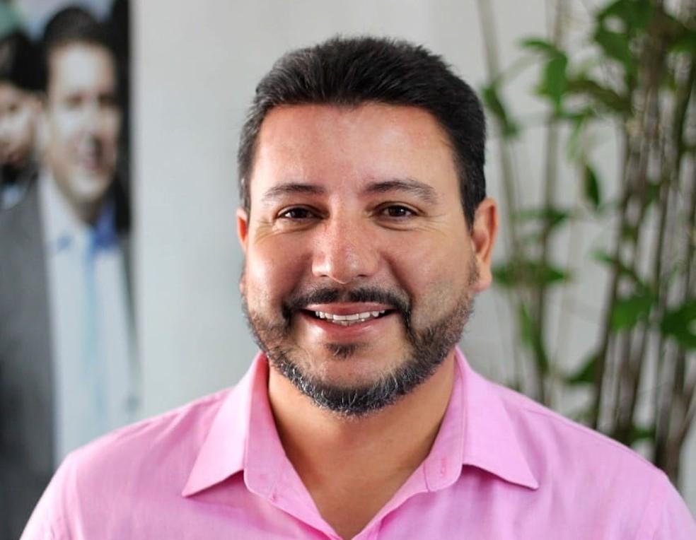 Prefeito de Ilhabela, Márcio Tenório, é afastado em operação da Polícia Federal — Foto: Divulgação