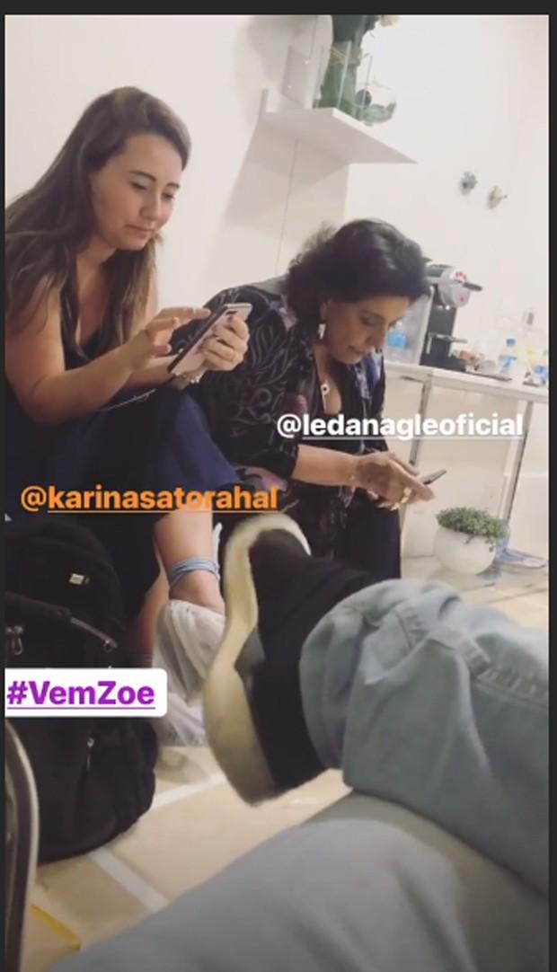 Espera de Zoe, filha de Sabrina Sato e Duda Nagle (Foto: Reprodução/Instagram)