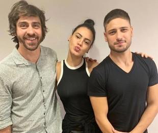 Felipe Abib, Letícia Lima e Daniel Rocha | Arquivo pessoal