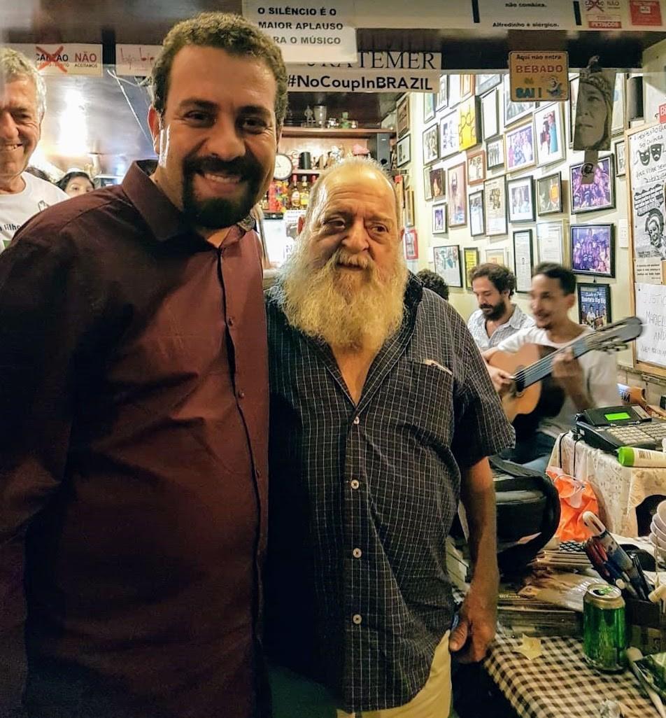 Guilherme Boulos e Alfredinho