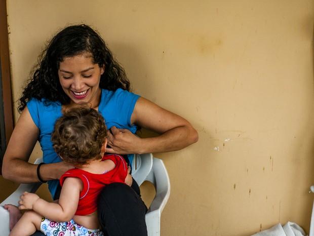 As histórias de mães refugiadas que lutam para criar seus filhos no Brasil (Foto:  Luiza Kons)