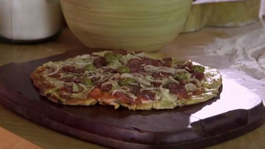 Pizza de Calabresa do Rodrigo Hilbert