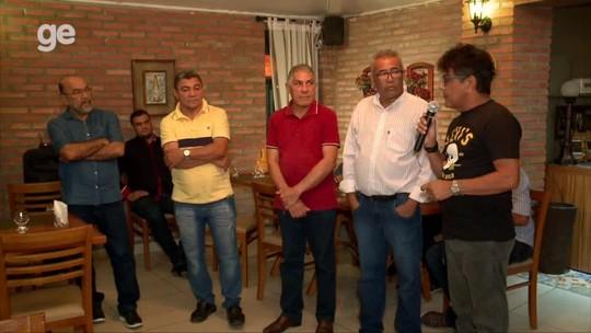 """Em jantar, vice manifesta apoio a Cesarino na FFP: """"Conte com os bons riverinos"""""""