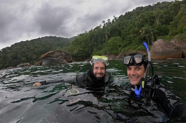 Vladimir Brichta e Ricardo Gomes (Foto: Arquivo pessoal)