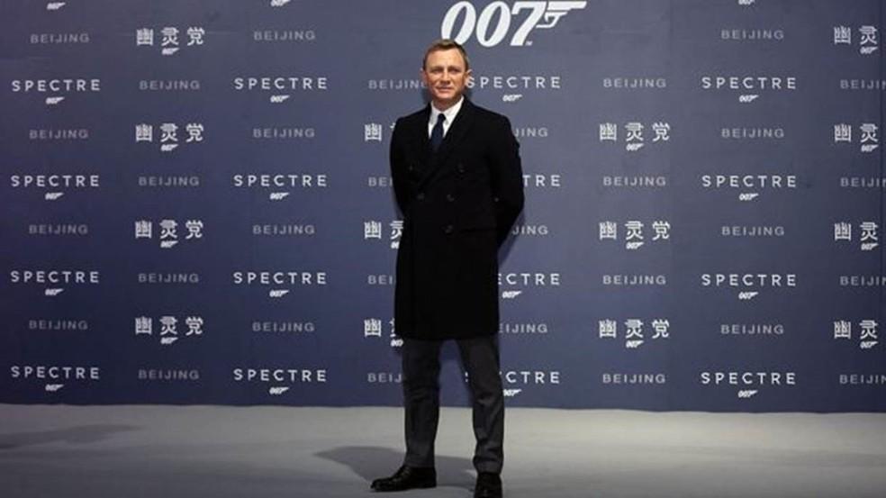 O filme `No Time To Die` será o último da franquia de James Bond interpretado por Daniel Craig — Foto: Getty Images