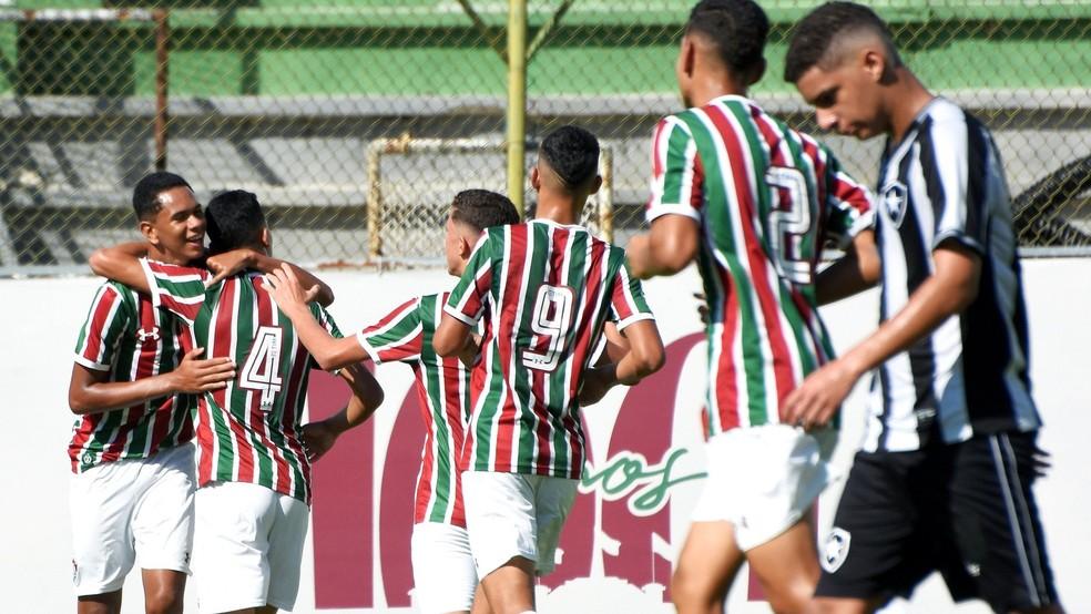 Fluminense bate Botafogo no sub-15 e avança à final da Taça Guanabara — Foto: Divulgação/Fluminense