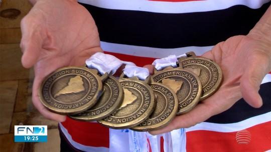 Com 12 ouros conquistados em menos de 20 dias, nadador lidera o Oeste Paulista na final dos Jori