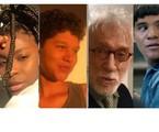 Jeniffer Dias, ator e atriz Gustavo Luz, o veterano Moacyr Franco e o ator indígena Adanilo são alguns dos que fazem participações em 'Segunda chamada' | Reprodução