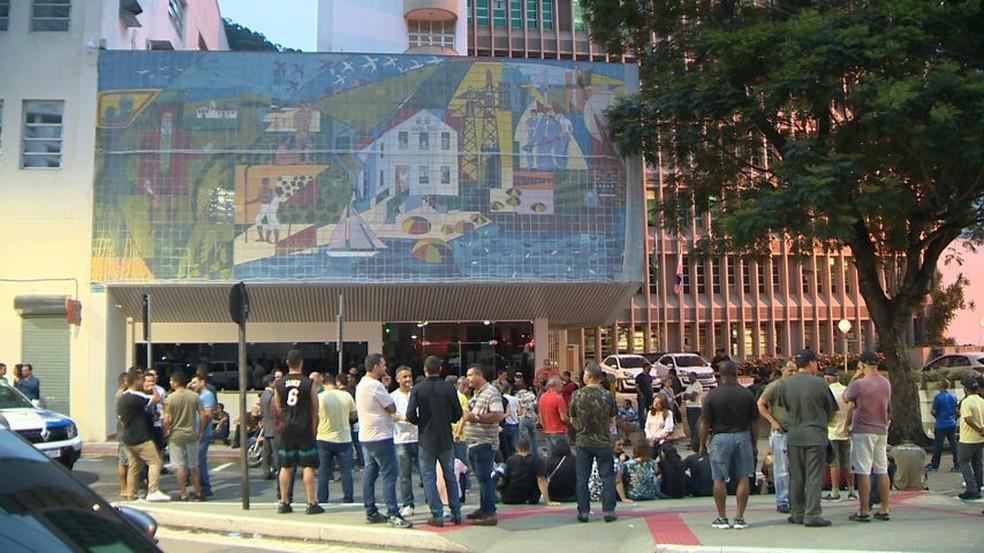 Reunião aconteceu no Palácio da Fonte Grande, no Centro de Vitória — Foto: Reprodução/TV Gazeta
