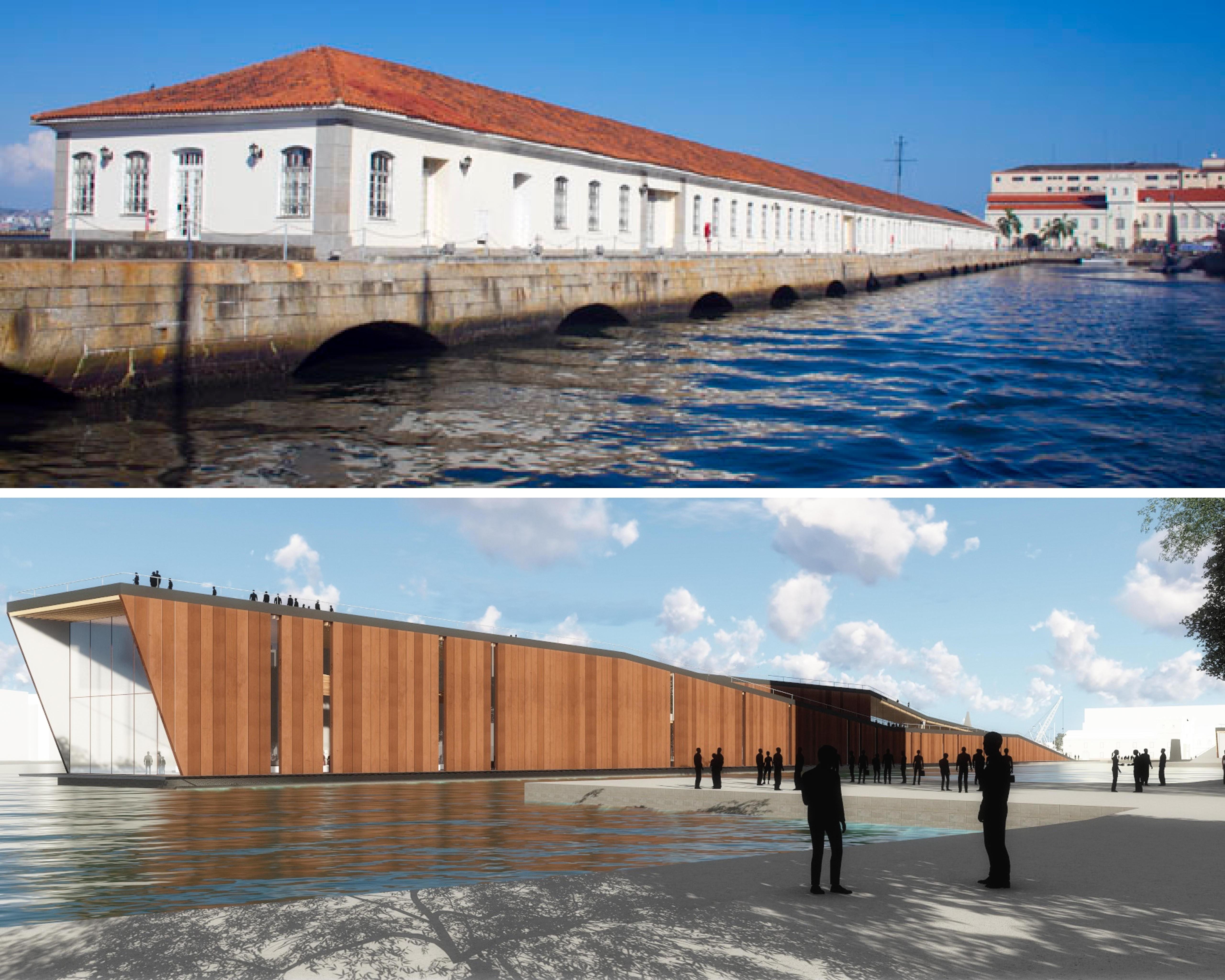 O novo Museu Marítimo