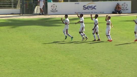 São Paulo  x Grêmio - Taça BH 2018 - globoesporte.com