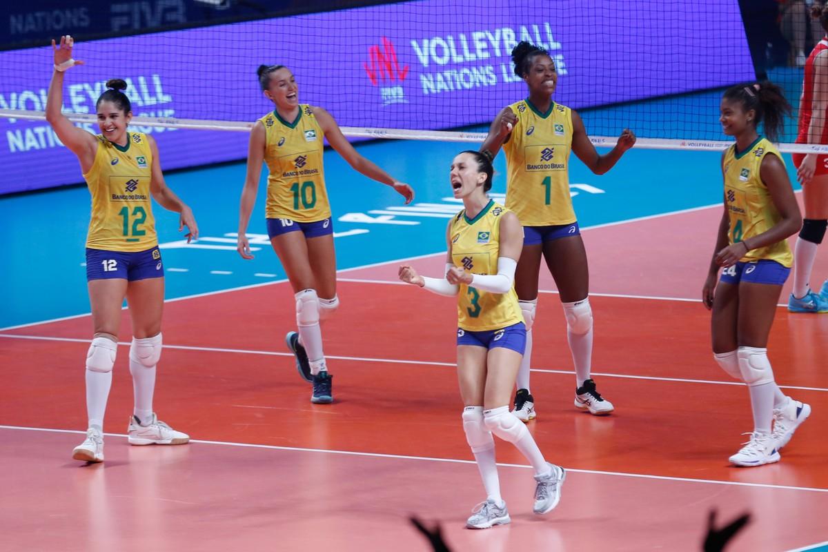 Resultado de imagem para Estados Unidos vencem a China e vão pegar o Brasil na decisão da Liga das Nações
