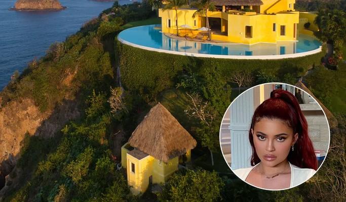 Kylie Jenner se hospeda em casa de luxo com diária de R$ 39,5 mil