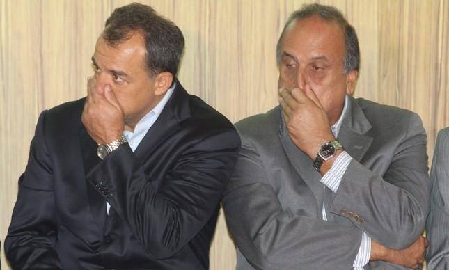 Sérgio Cabral e Pezão