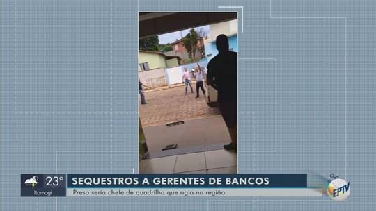 Quadrilha especializada em sequestros de gerentes de banco já teria roubado R$ 2 milhões, diz polícia