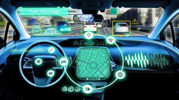 O 5G pode fazer deslanchar a tecnologia de carros que dirigem sozinhos (Foto: Getty Images via BBC News Brasil)