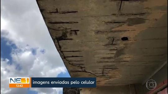 Aulas são suspensas na Faculdade de Odontologia da UPE por causa de problemas de infraestrutura e risco de queda do prédio