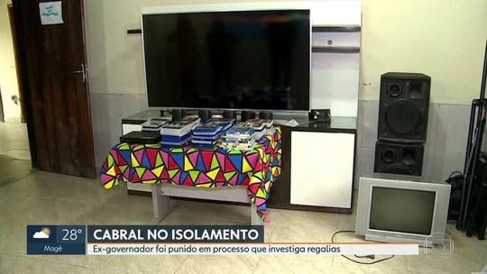 Cabral ficará 1 mês isolado por causa de 'cinema' em presídio