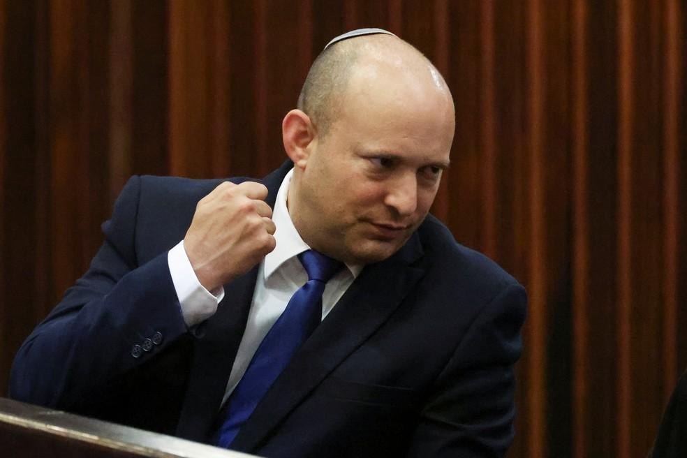 Naftali Bennett, escolhido para ser o novo premiê de Israel — Foto: Ronen Zvulun/Reuters