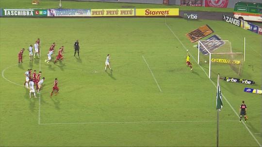 Os gols de Londrina 3 x 2 Vila Nova-GO pela 33ª rodada do Campeonato Brasileiro Série B
