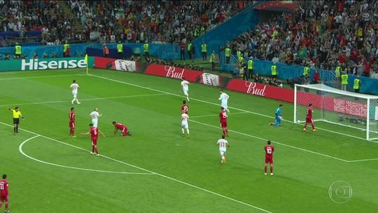Espanha vence Irã por um a zero, e iranianos saem de campo aplaudidos