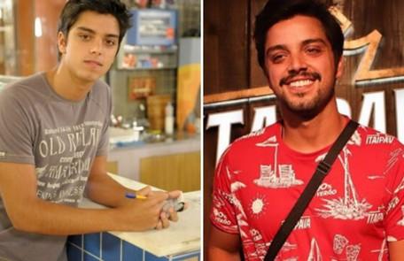 A Rodrigo Simas coube o papel de Leandro, filho de Dagmar (Cris Vianna). A trama marcou sua estreia em novelas da Globo. No ano passado, o ator esteve em 'Órfãos da terra' TV Globo e reprodução