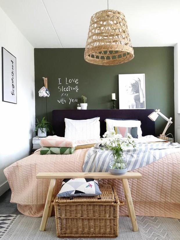 Verde militar: 9 ambientes com a cor tendência para se inspirar (Foto: Divulgação)