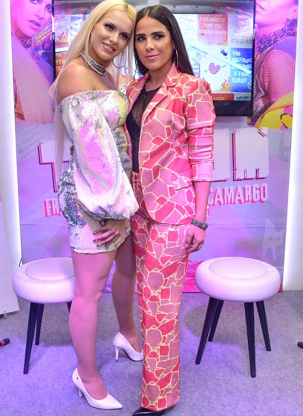 Francinne e Wanessa (Foto: AgNews)