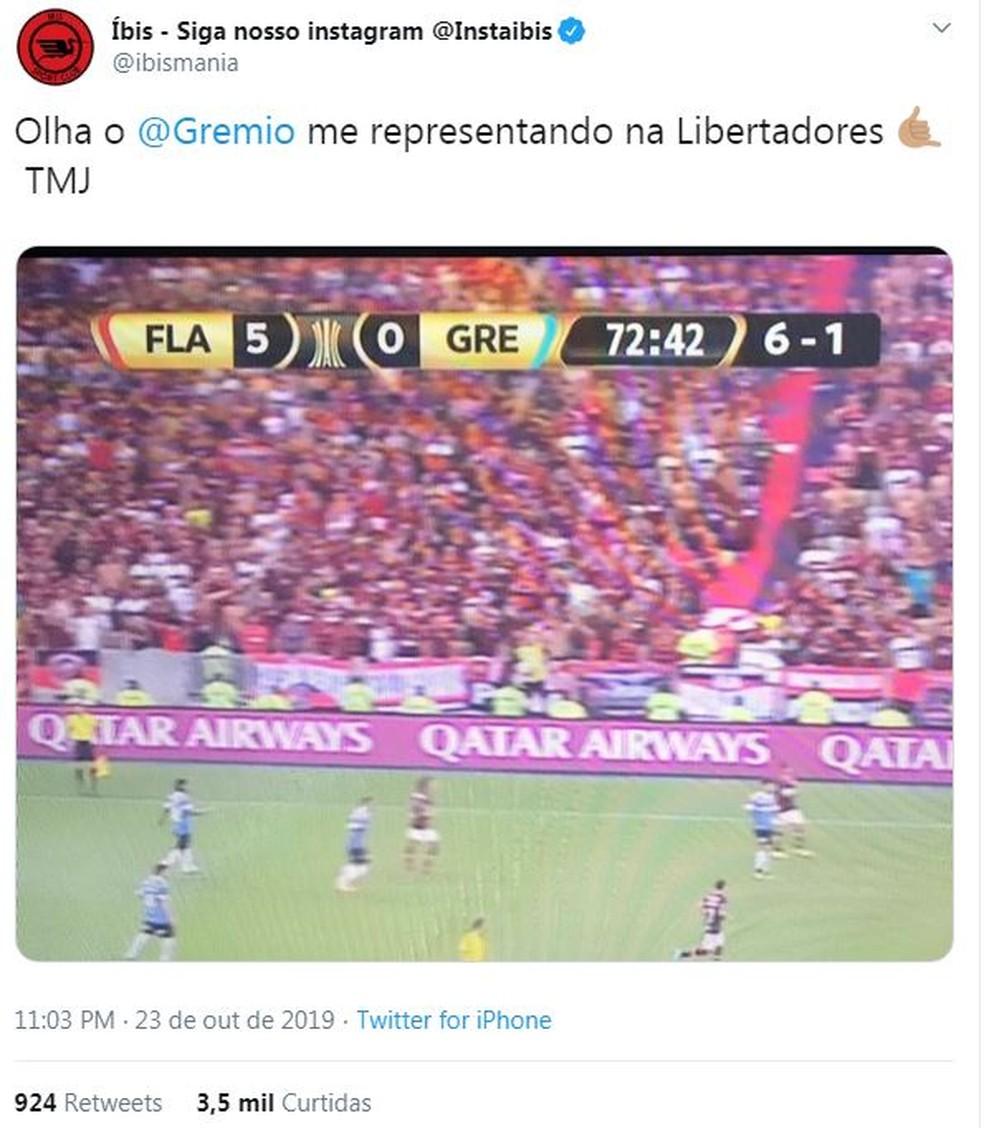 Grêmio é Eliminado Da Libertadores Com Goleada Para O Fla E