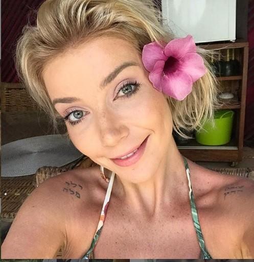 Luiza aproveita os dias de folga (Foto: Instagram)
