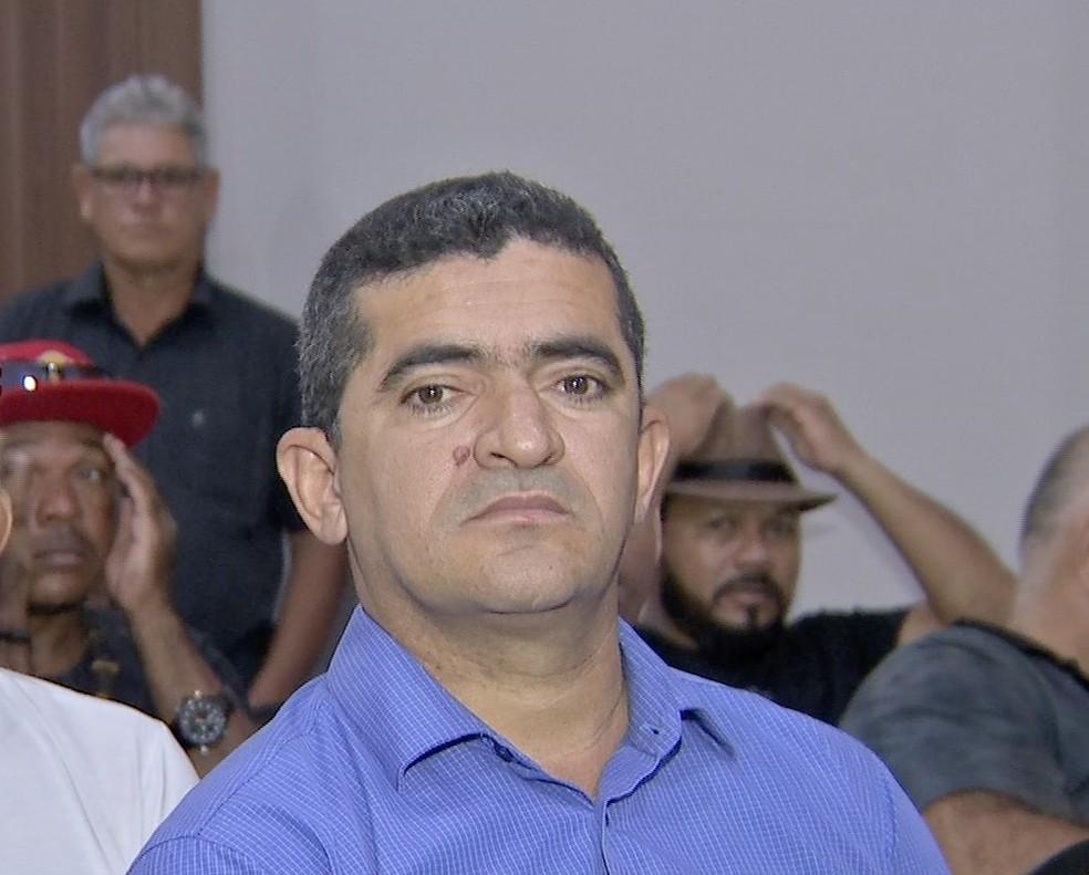 Elizeu Nascimento, candidato ao Senado — Foto: TVCA/Reprodução