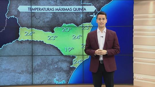 Apesar do frio ao amanhecer de -3°C na Serra, temperaturas devem subir em cidades de SC durante a tarde