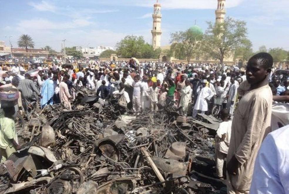 -  Boko Karam tem feito diversos atentados na Nigéria  Foto: AFP
