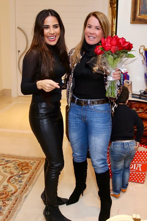 Zilu Godoi e Wanessa Camargo  (Foto: Manuela Scarpa/Brazil News)