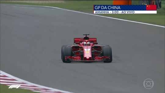Vettel supera Raikkonen por apenas 0s087 e conquista a pole position na China