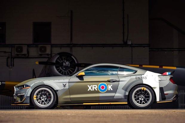 Mustang GT preparado pela Ford tem até componentes do Spitfire (Foto: Divulgação)