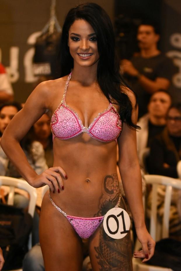 Jennifer de Paula vence categoria em concurso fitness (Foto: Vagner Souza / MF Models Assessoria )