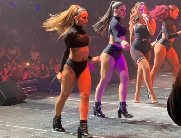 Anitta no Madison Square Garden (Foto: Divulgação)